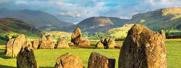 The Castlerigg stone circle is set among fine Lake District scenery (Shutterstock)
