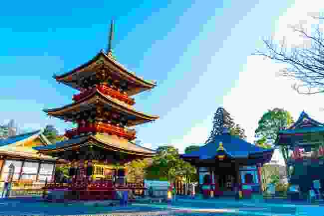 Visit Naritasan Buddhist temple in Narita (Shutterstock)
