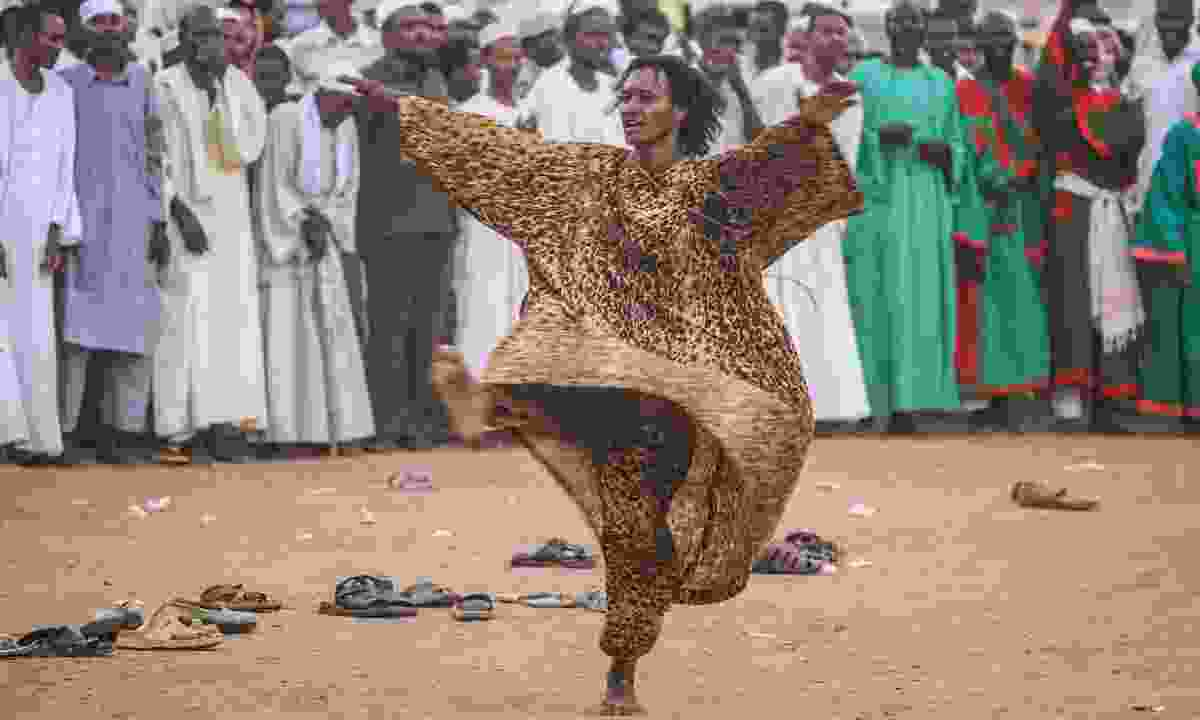 A whirling dervish in Sudan (Shutterstock)