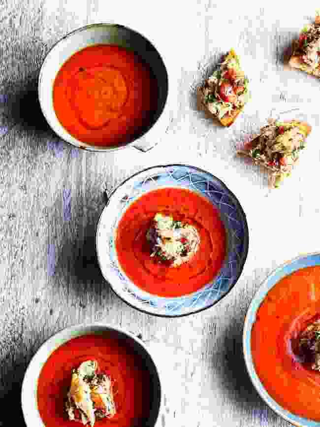 Spice Crab Gazpacho (Moorish by Ben Tish; Published by Bloomsbury)