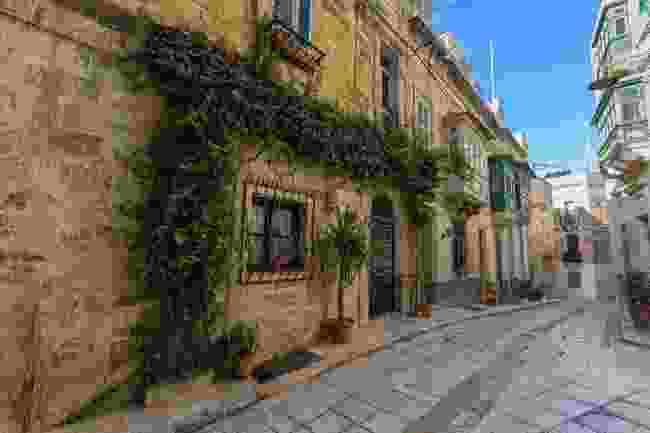 A street in the Three Cities (Visit Malta)