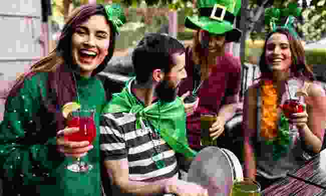 Celebrating St Patrick's Day (Shutterstock.com)