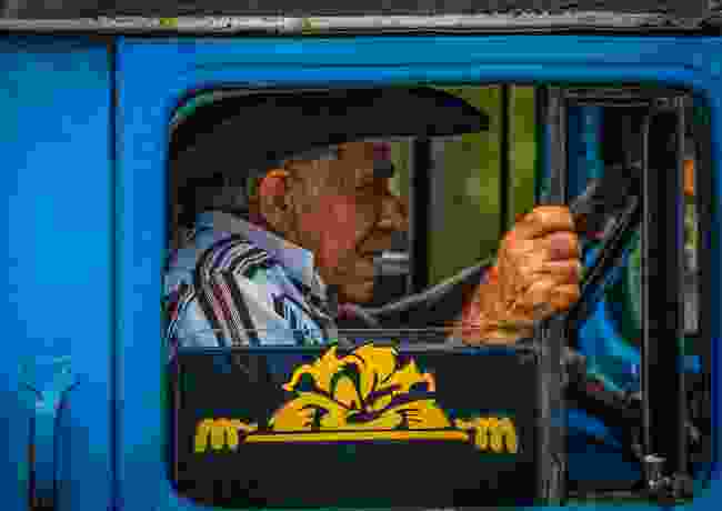 Terrified passenger: Cuba (George Abdilla)