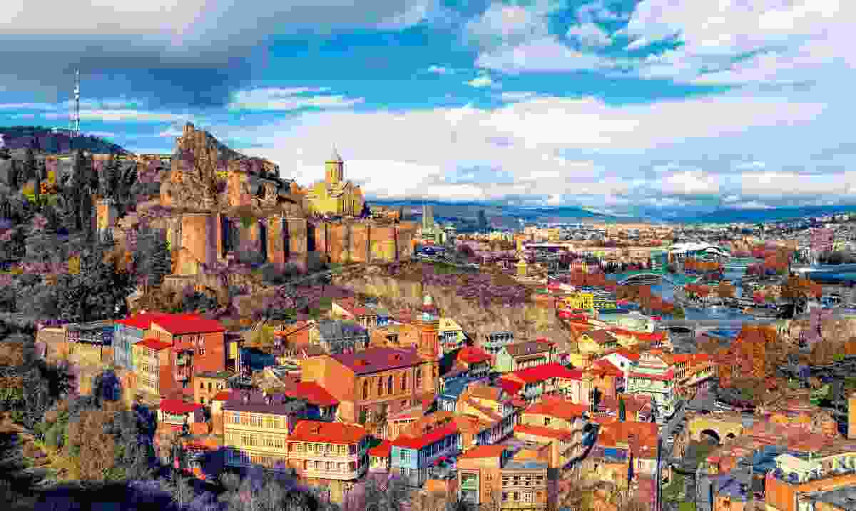 Tbilisi blends striking architecture with cool cafés (Dreamstime)