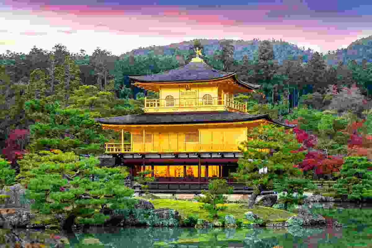 The Golden Pavilion, Kinkaku-ji Temple, Kyoto, Japan (Dreamstime)