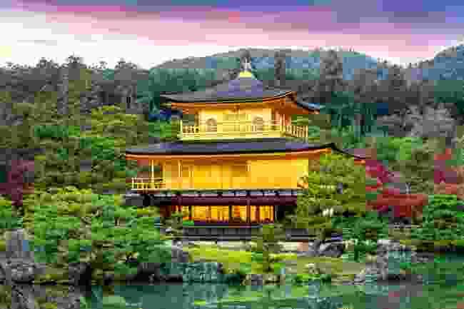 The Golden Pavilion, Kinkaku-ji Temple, Kyoto, Japan (Dreamstime)
