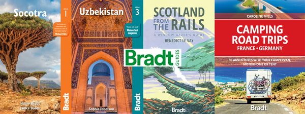 Exclusive 30% discount on all Bradt guide books