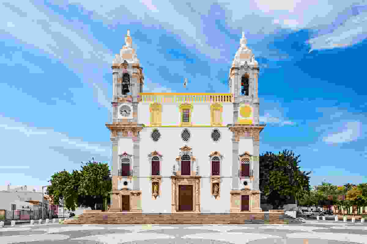Carmo Church (also known as the Chapel of Bones) in Faro, Portugal (Shutterstock)