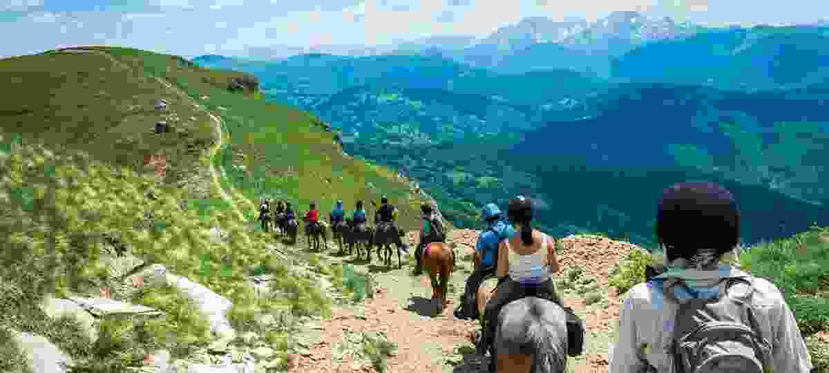 Horse riding in Montenegro (Wanderlust Journeys)