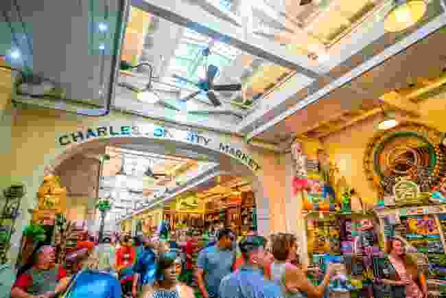 Inside Charleston's hugely popular market, South Carolina (Shutterstock)