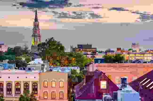 The skyline of Charleston, South Carolina (Shutterstock)