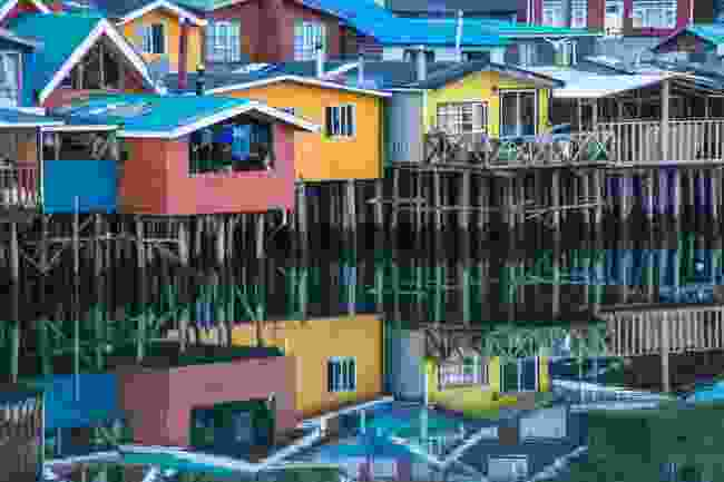 Stilt houses in Castro on Chiloé Island, Chile (Shutterstock)