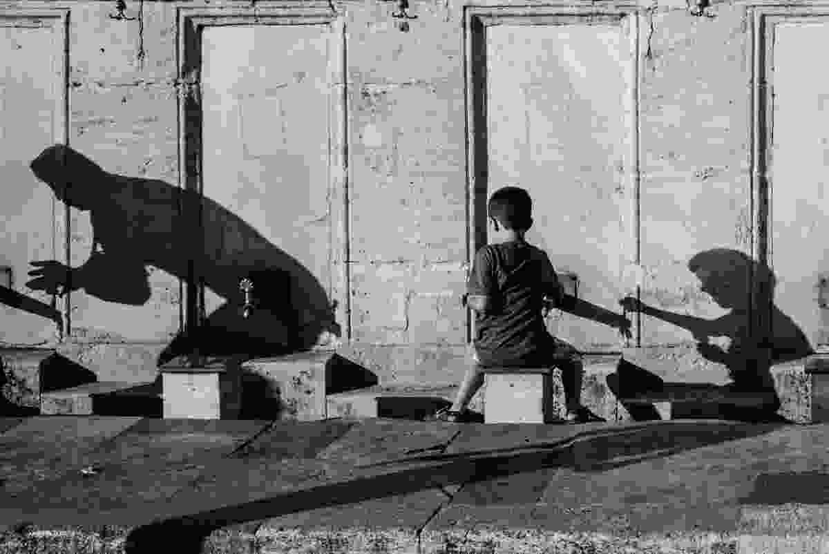 Washing for prayer, Istanbul (Derren Brown)