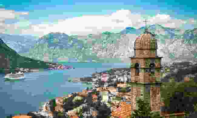 View across the Bay of Kotor (Dreamstime)