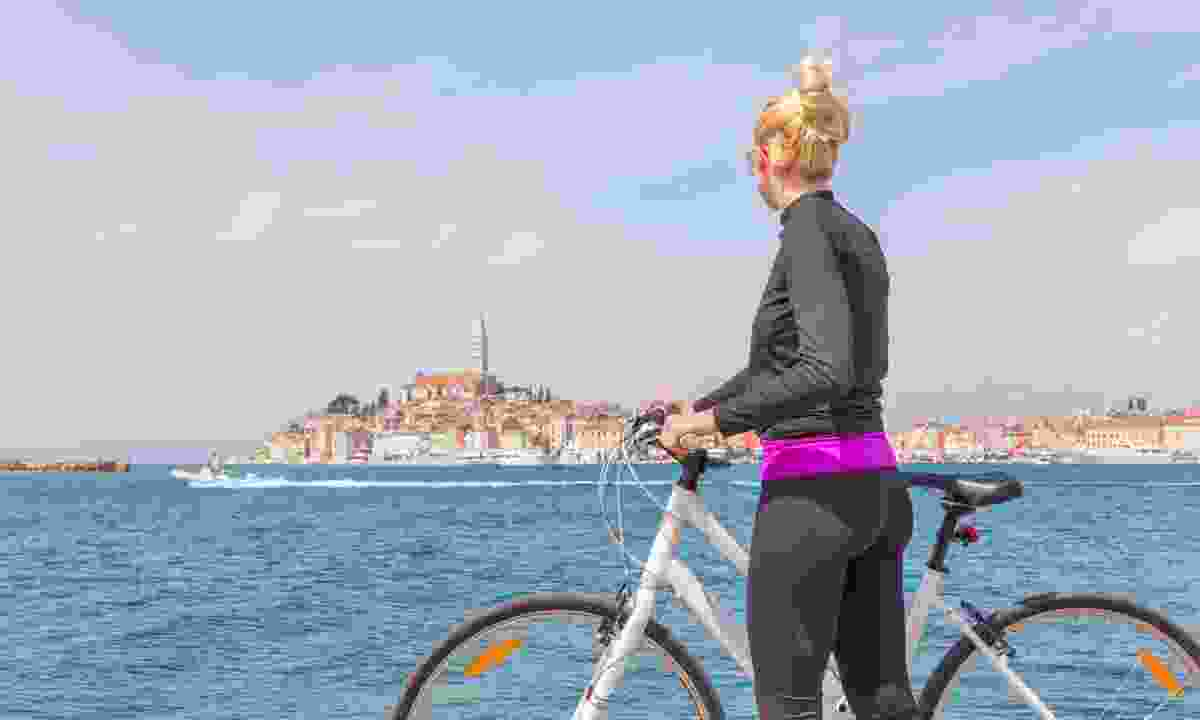 Cycling round Rovinj, Istria (Dreamstime)