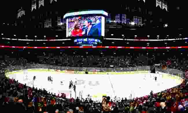 Hockey night in Montreal (Dreamstime)