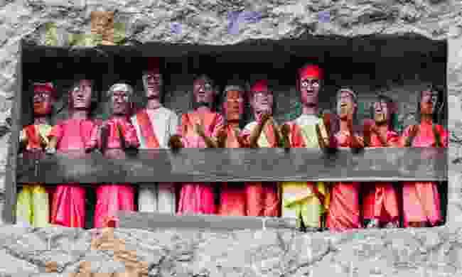Traditional burial site in Tanah Toraja (Dreamstime)