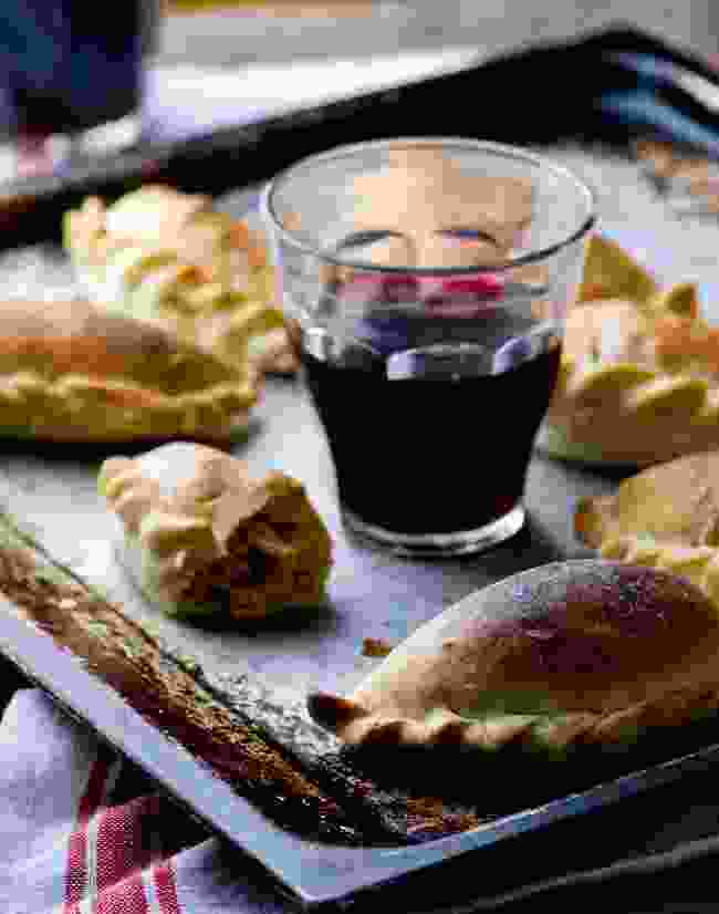 Empanadas and Malbec (Dreamstime)
