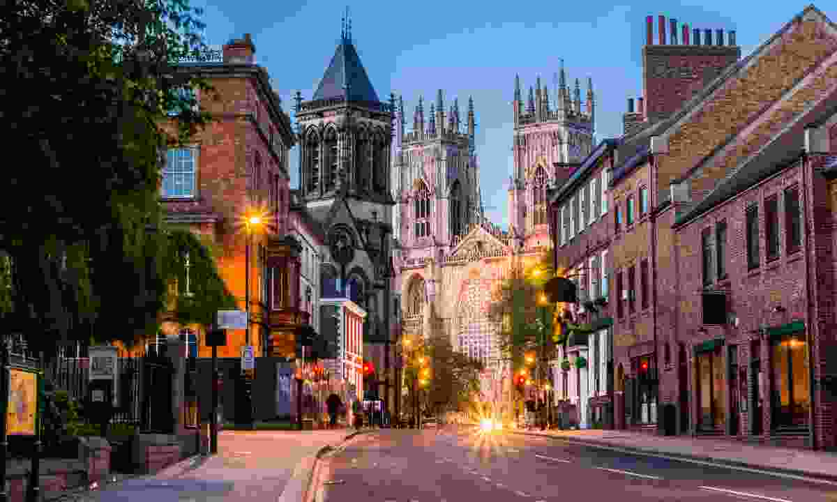 York Minster at night (Dreamstime)