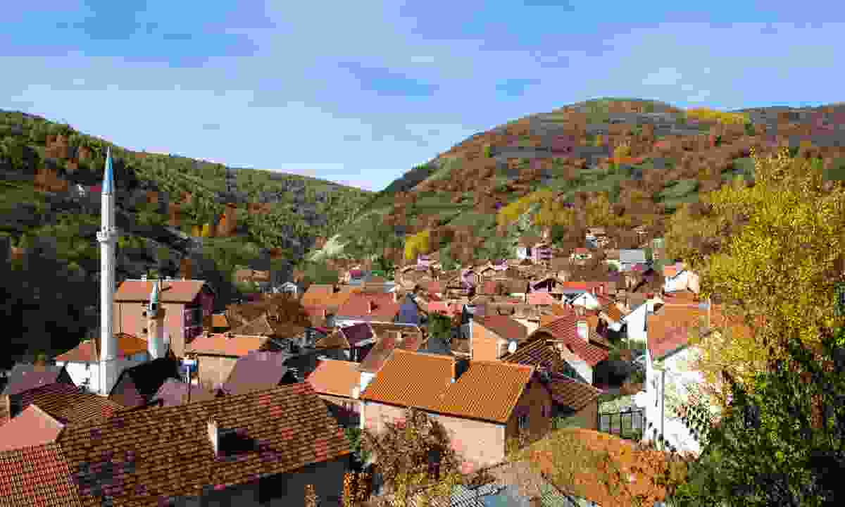 Village in the Shar Mountains (Dreamstime)