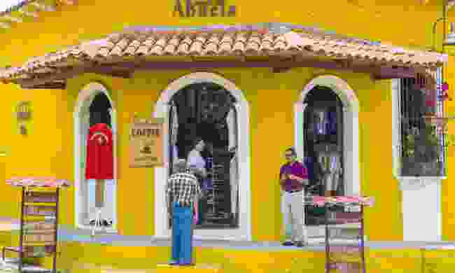 The colonial town of Suchitoto. Dull. (Dreamstime)