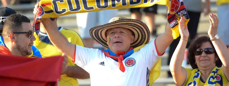 Colombian football fan (Dreamstime)