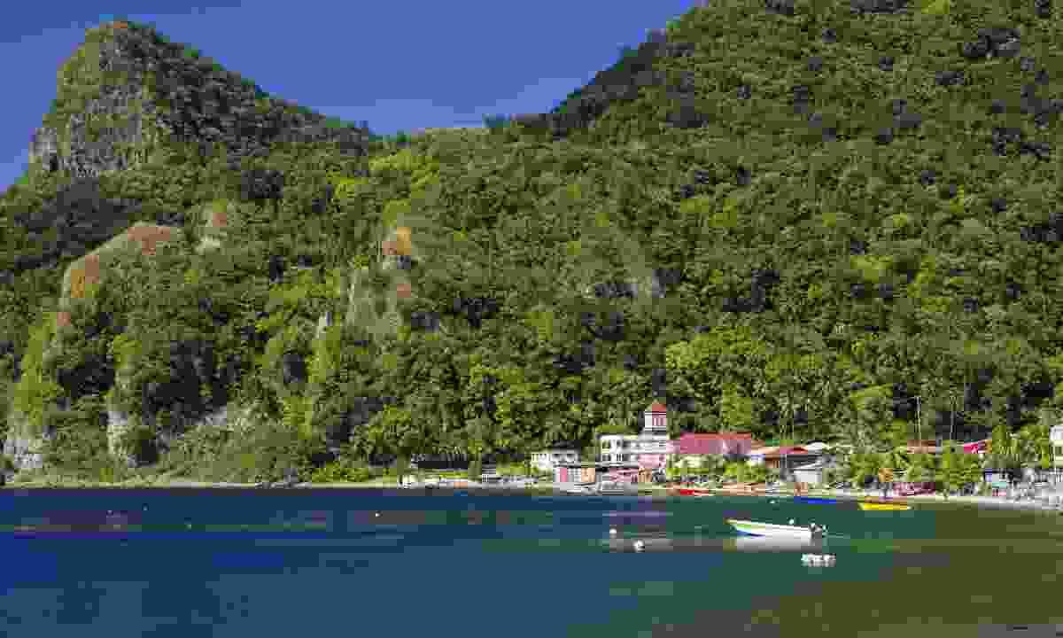 Soufriere village. Dominica (Dreamstime)