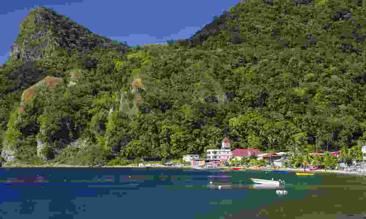 Soufriere village. Dominica (Dreamstime)