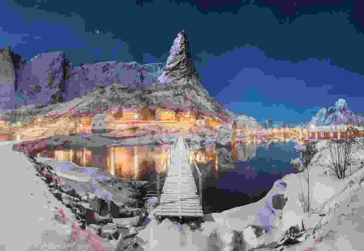 Northern Matterhorn, Reine, Lofoten Islands, Norway (Daniel Kordan)