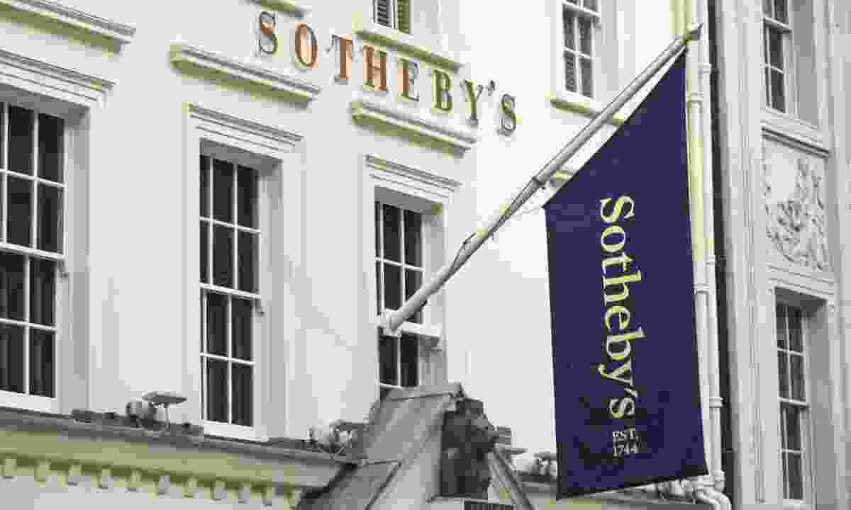 Sotheby's in London (Shutterstock)