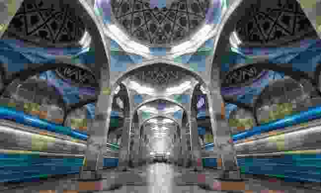 The Soviet splendour of the Tashkent Metro (Shutterstock)