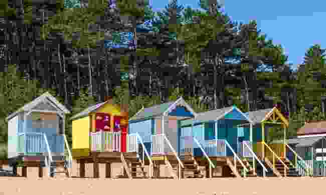 Brightly coloured beach huts in Wells-next-the-Sea (Shutterstock)