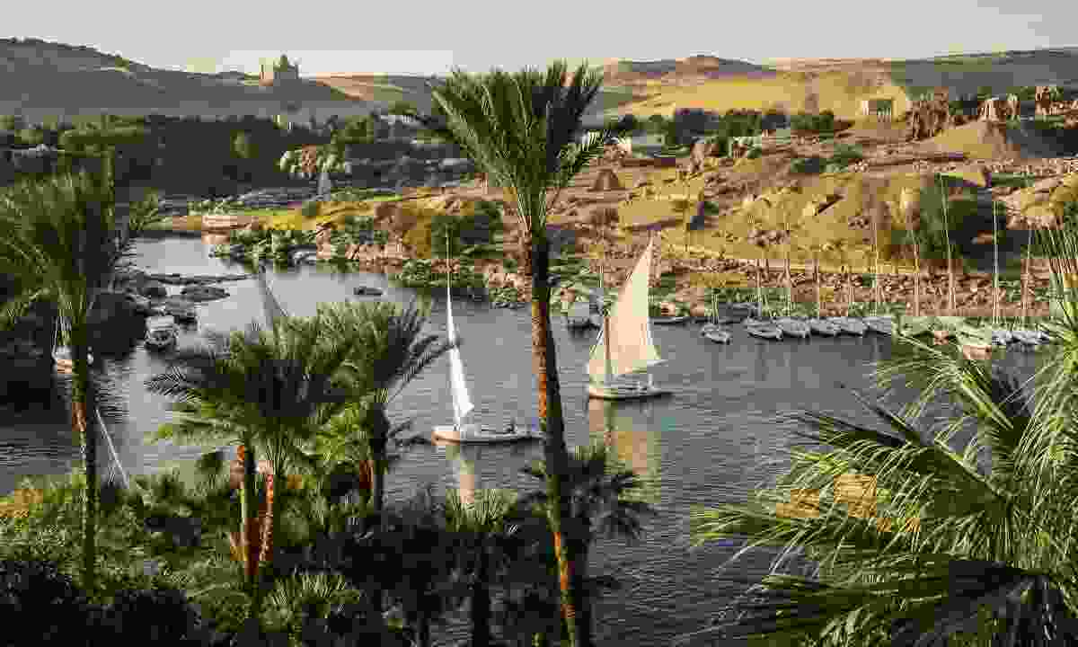 Feluccas on the Nile in Aswan (Shutterstock)