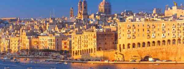 Three Cities viewed from Valletta (Shutterstock)