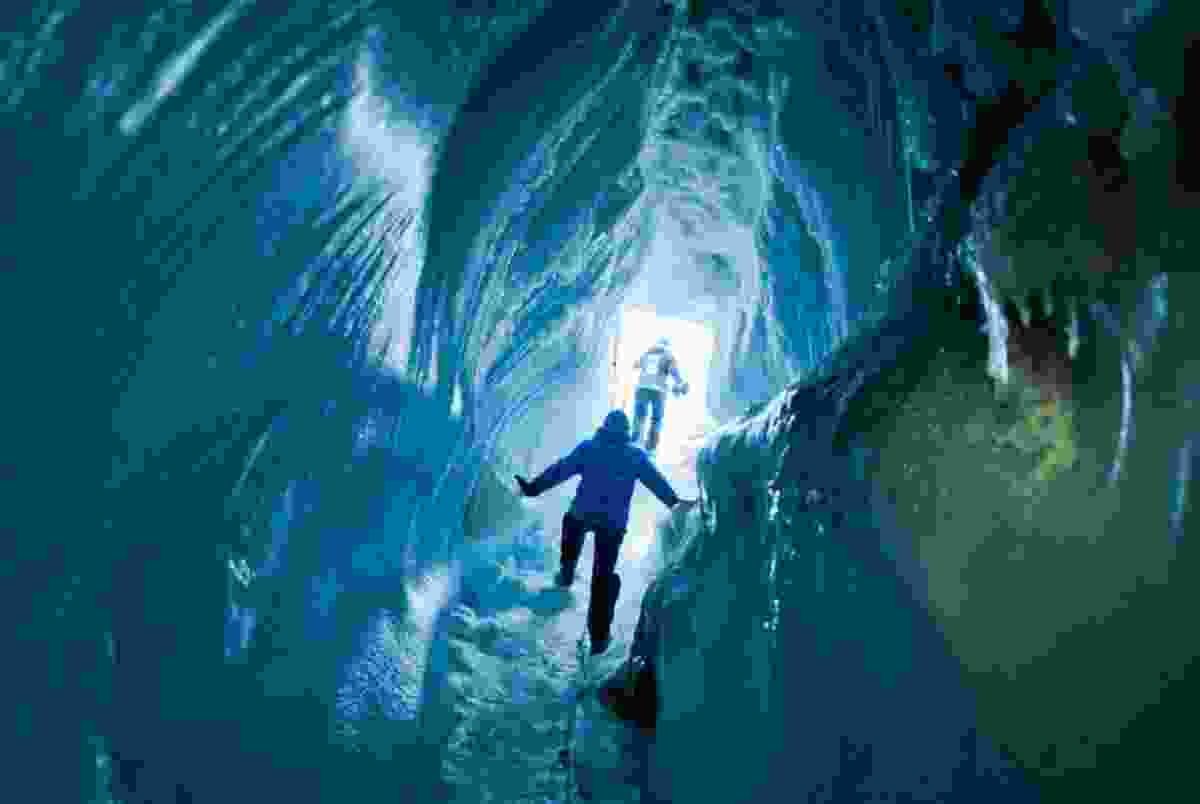 Ice walk cave experience (Supplied by Hurtigruten)