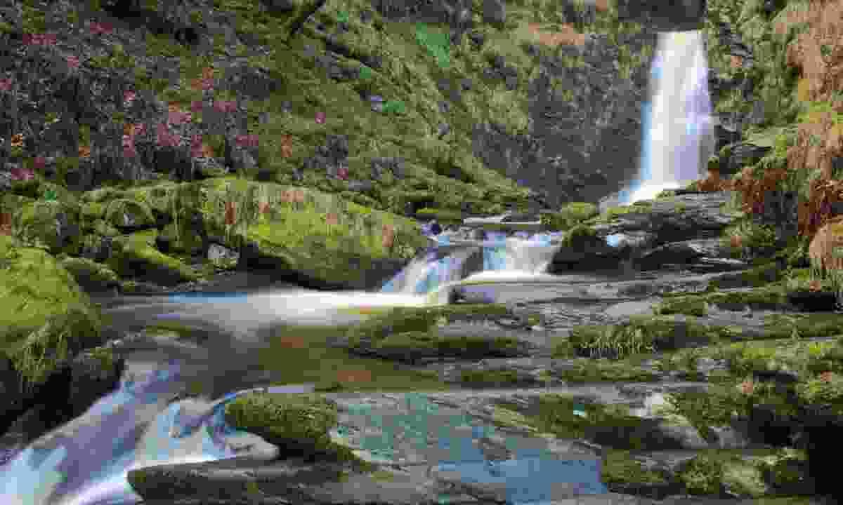 Pistyll Rhaeadr waterfall (Dreamstime)
