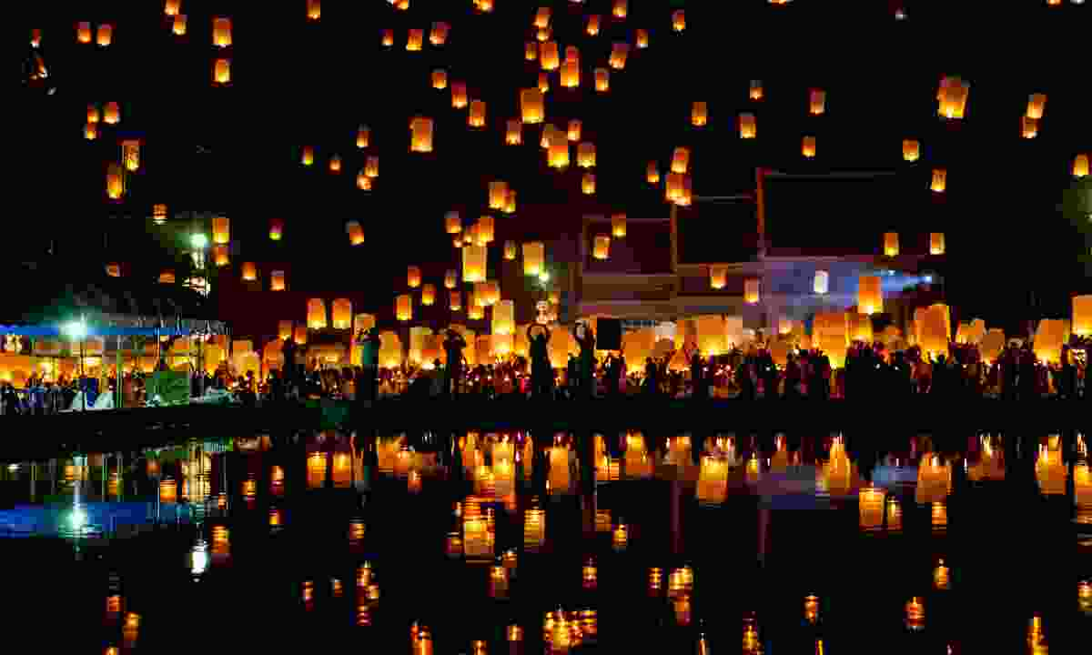 Chinese lanterns (Dreamstime)