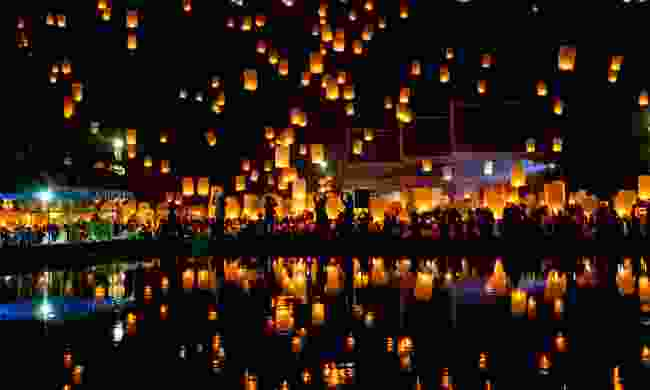 Chinese lanterns (Dreamstime)
