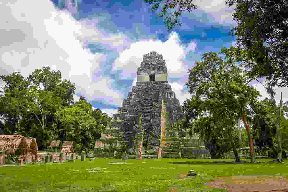 Mayan temple, Tikal National Park, Guatemala (Dreamstime)