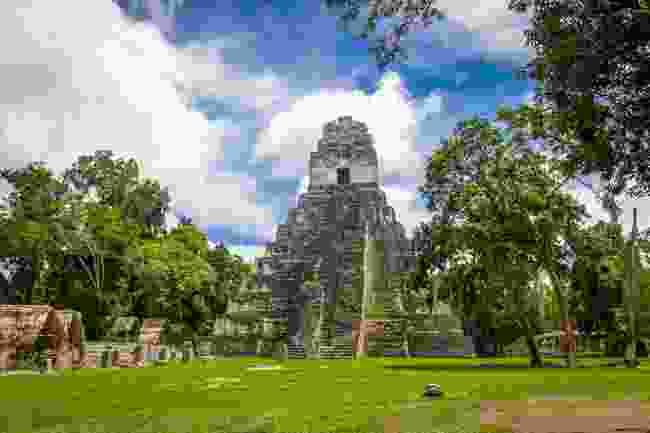 Mayan temple, Tikal National Park, Guatemala (Dreamstime)