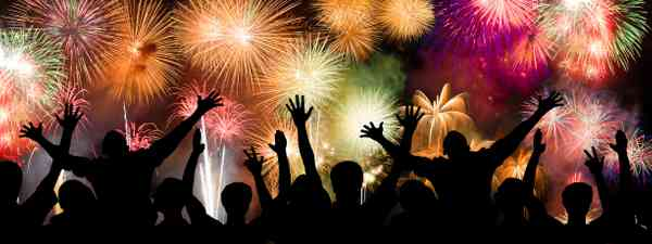 firework display (Dreamstime)