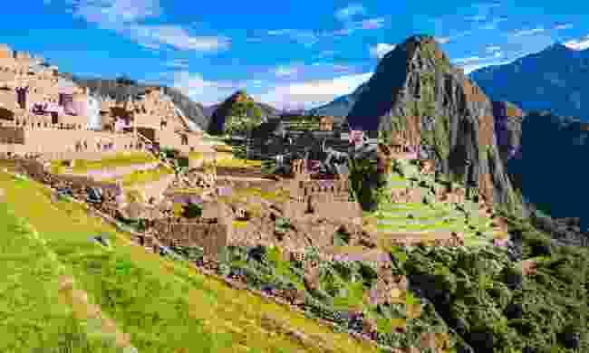 The iconic Machu Picchu, along the Inca Trail, Peru (Dreamstime)