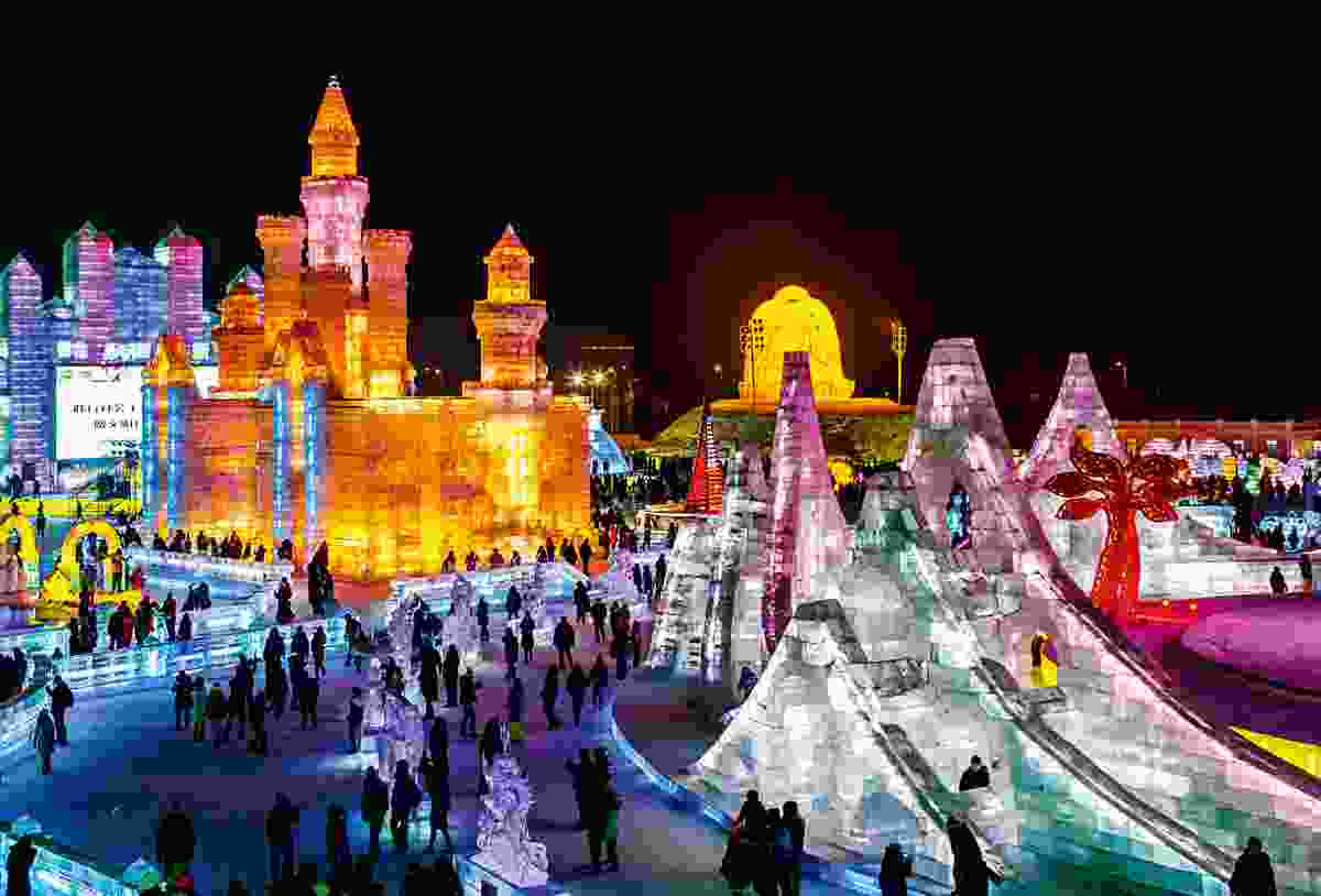 Harbin Ice Festival, China (Shutterstock)
