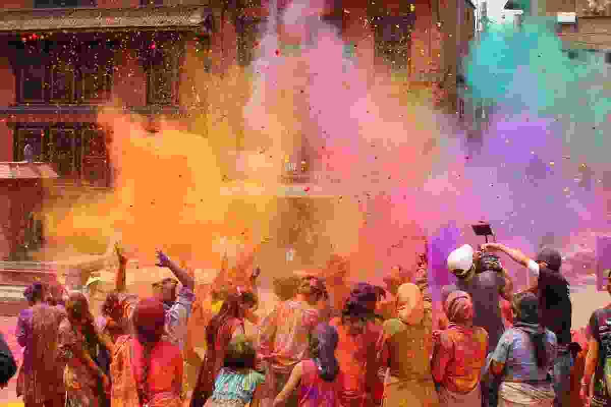 Holi Festival, India (Shutterstock)