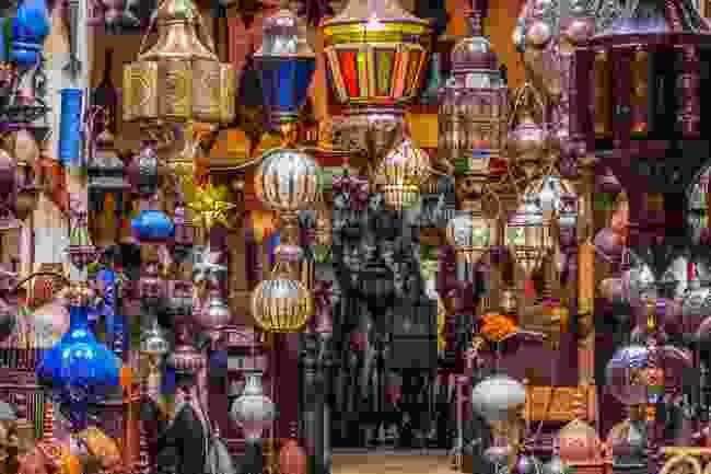 Lanterns in Marrakech (Shutterstock)