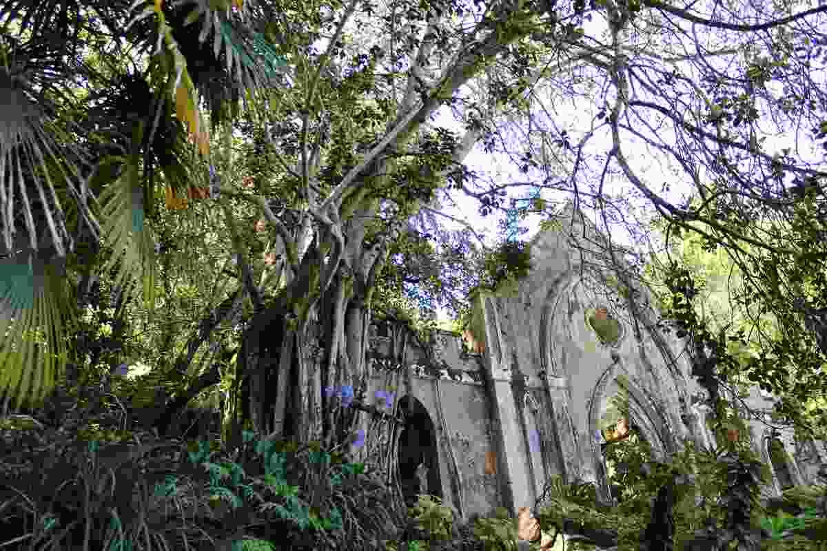 The ruined chapel, Park of Monserrate, Sintra (Nora Wallaya)
