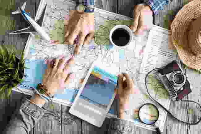 Planning a trip (Shutterstock)