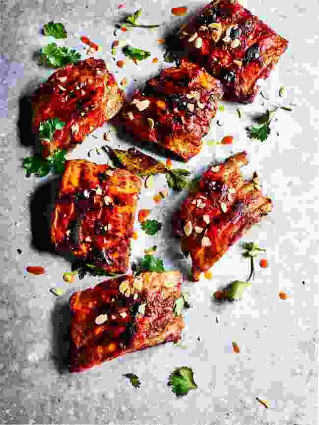 Pork ribs (Moorish by Ben Tish; Published by Bloomsbury; Photo by Kris Kirkham)