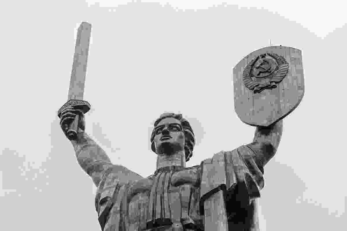 The Motherland Monument in Kiev, Ukraine (Dreamstime)