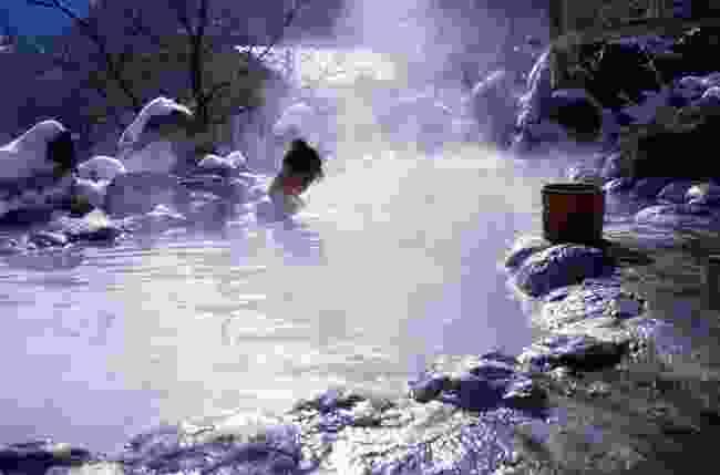 Soak in the hot springs